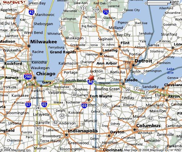 Maps Update 523513 Michigan Travel Map Travel Map Of